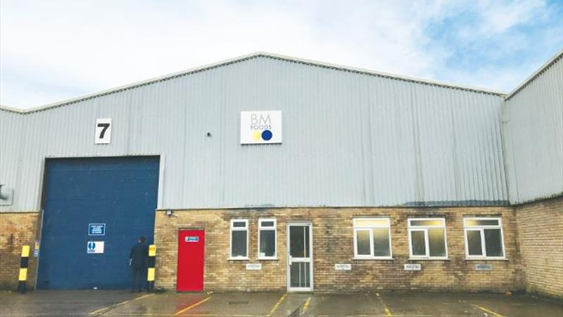 Industrial Unit With Good Road Links