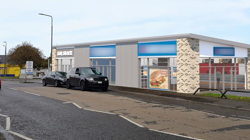 New Retail Unit With Designated Parking