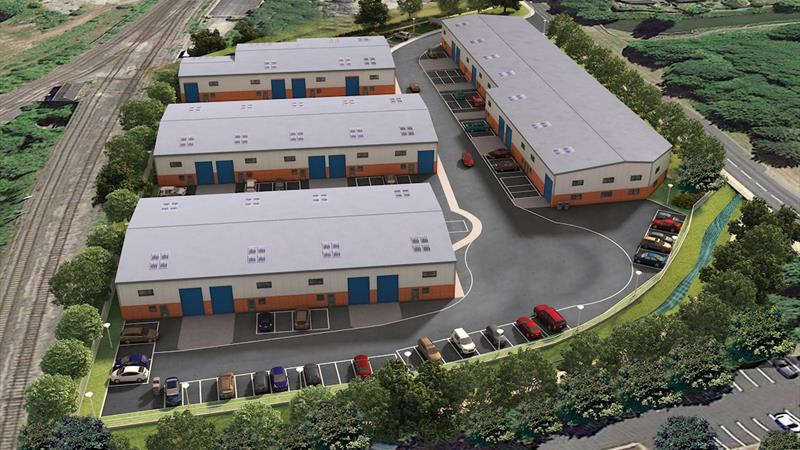 New Build Warehouse Units