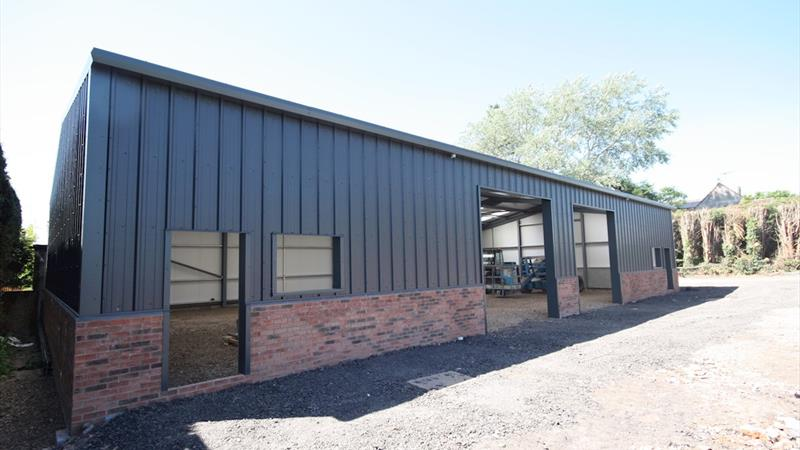New Warehouse With 2 Roller Shutter Doors