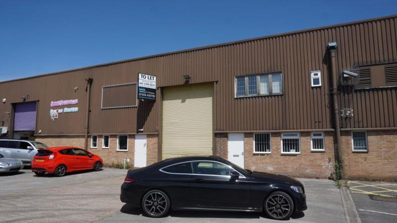 Mid Terrace Warehouse In Sought After Area