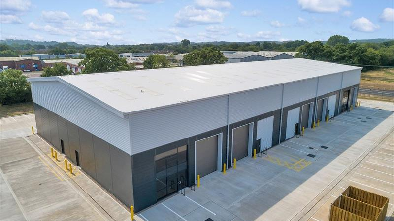 Industrial Units With Extensive Parking