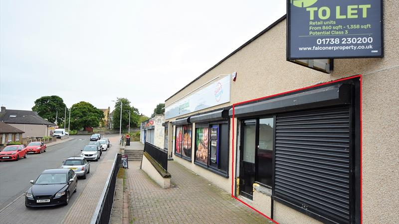 Open Plan Shop With High Footfall