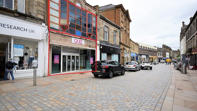 Retail Premises With High Footfall