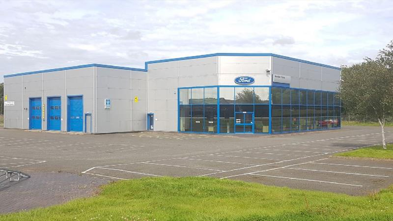 Industrial Premises With Forecourt & Yard