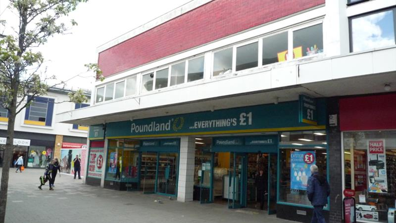 Double Front Shop In Town Centre Location