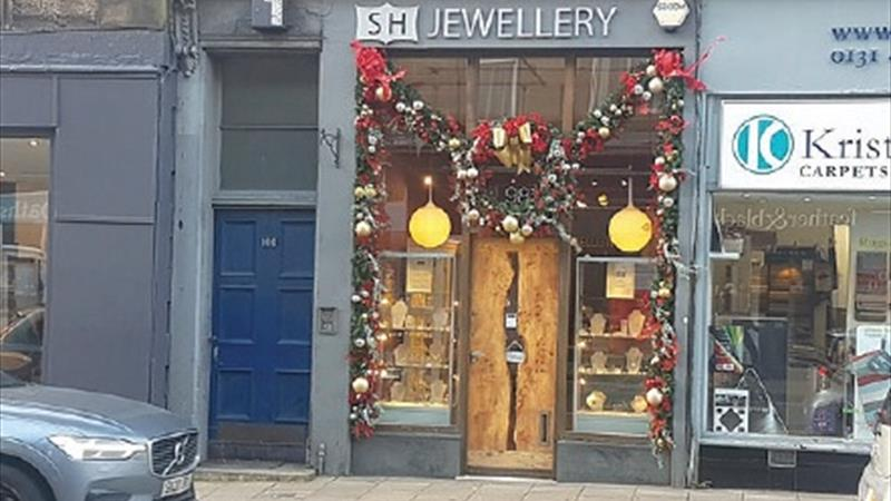 Former Jewellery Shop With Basement