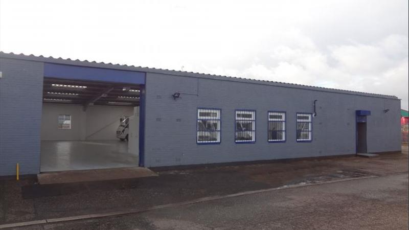 Industrial Unit/Workshop With Secure Yard