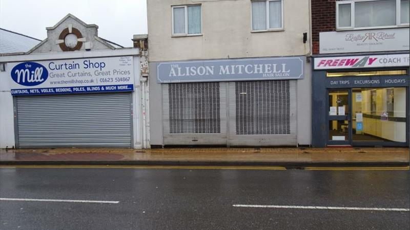 Shop to Let in Sutton-In-Ashfield