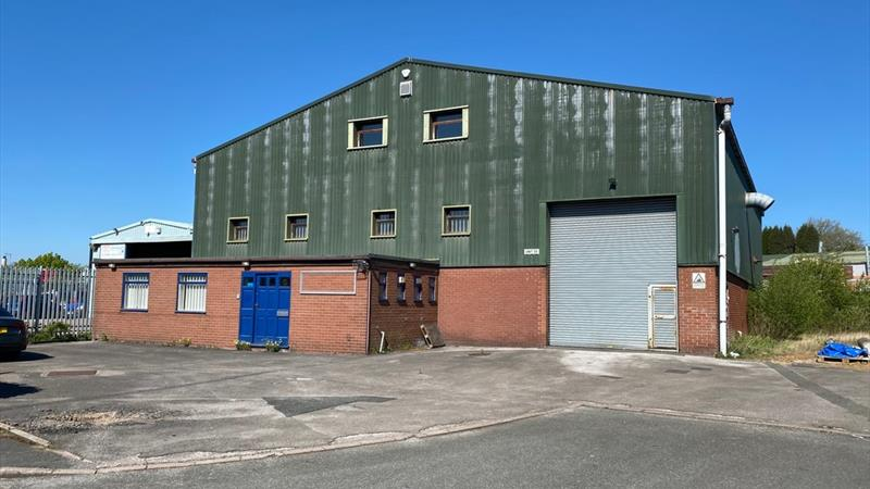 Warehouse With Offices & Parking