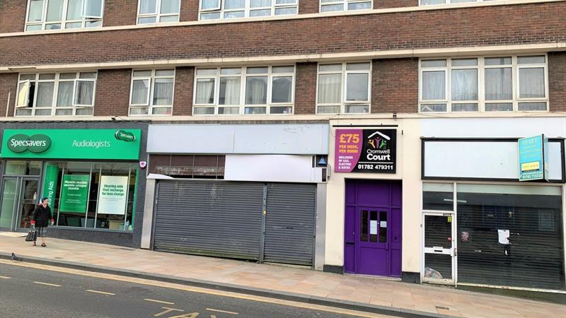 Retail Premises On Busy Shopping Parade