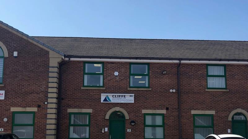 Office Premises With Excellent Road Links