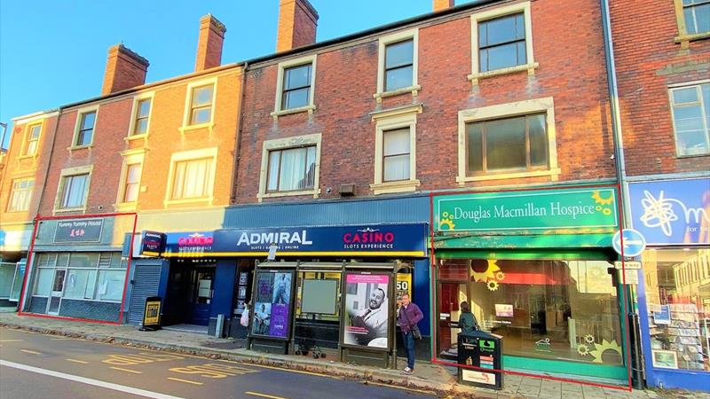 Two Retail Units In Town Centre Location