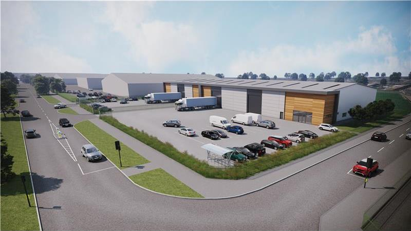 Prominent New Build Industrial Units To Let or For