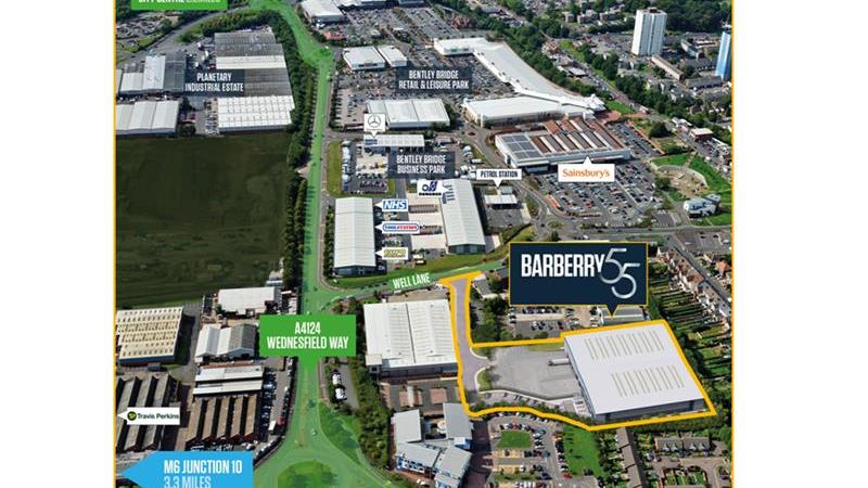 Barberry 55 - Detached Self-contained Industrial/U
