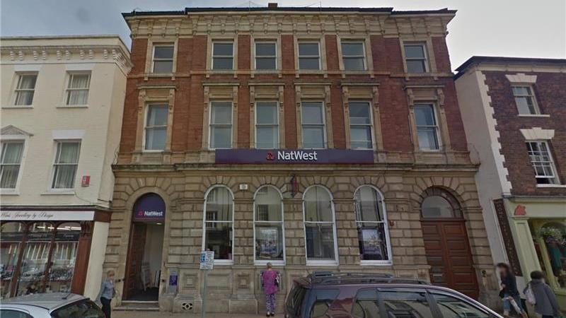 UNDER OFFER - Former Bank Premises For Sale in Wel