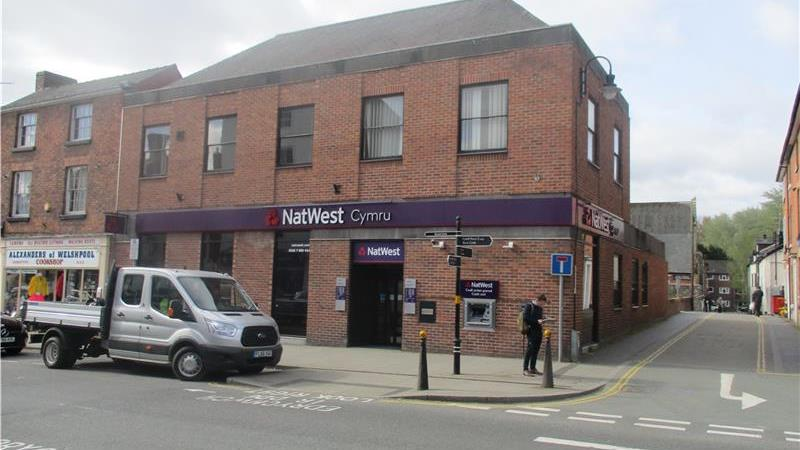 Former Bank Building in Welshpool For Sale