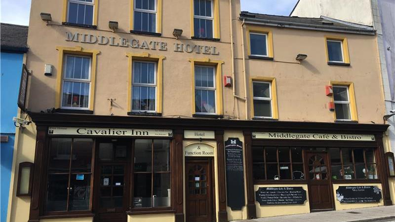 Hotel, Bar & Bistro in Pembroke Town Centre  For S