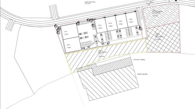 For Sale or To Let - Industrial/Commercial Develop