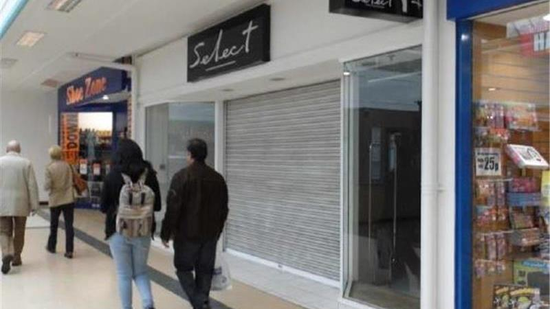 Retail Unit To Let in Ryemarket Shopping Centre in