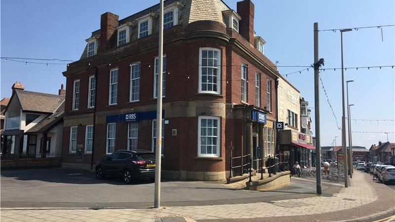 TO LET - Former bank premises in Blackpool
