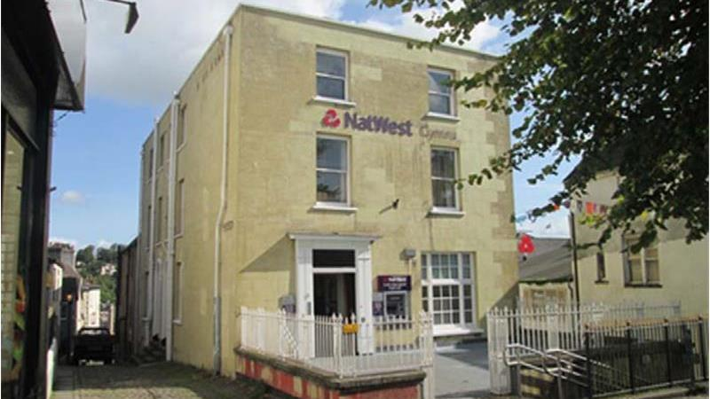 Former NatWest For Sale located in Chepstow