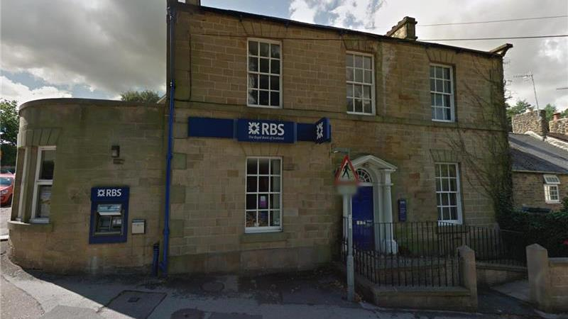 Former RBS Bank For Sale in Dronfield, Derbyshire