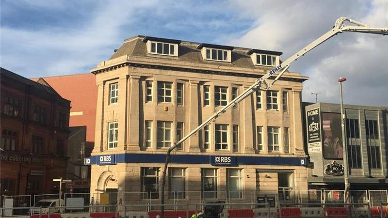 FOR SALE - Former Bank Premises - Talbot Square, B