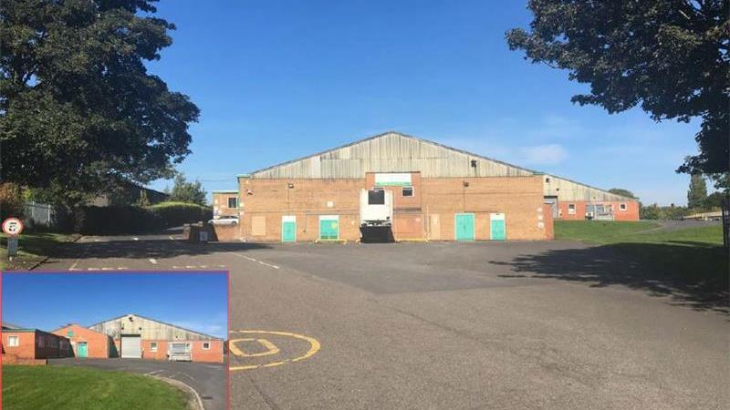 For Sale - Warehouse, cold store and offices on 4