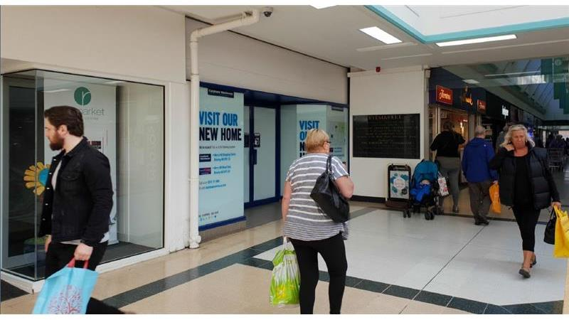 To Let - Prime Shopping Centre Unit, Ryemarket