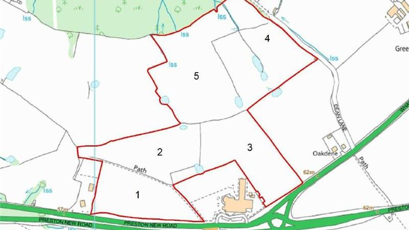 For Sale - Land at Preston New Road, Samlesbury