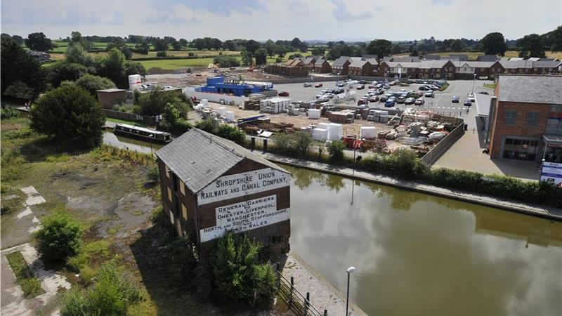 For Sale - Land at Ellesmere Wharf, Shropshire