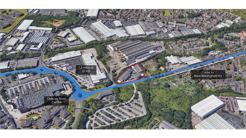 Industrial Property For Sale in Oldbury, Birmingha