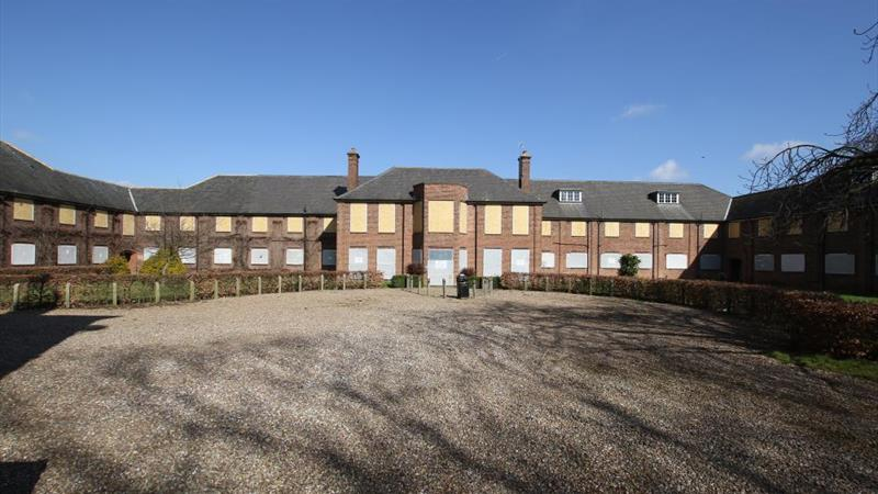 Thwaite Hall - 1950s extension