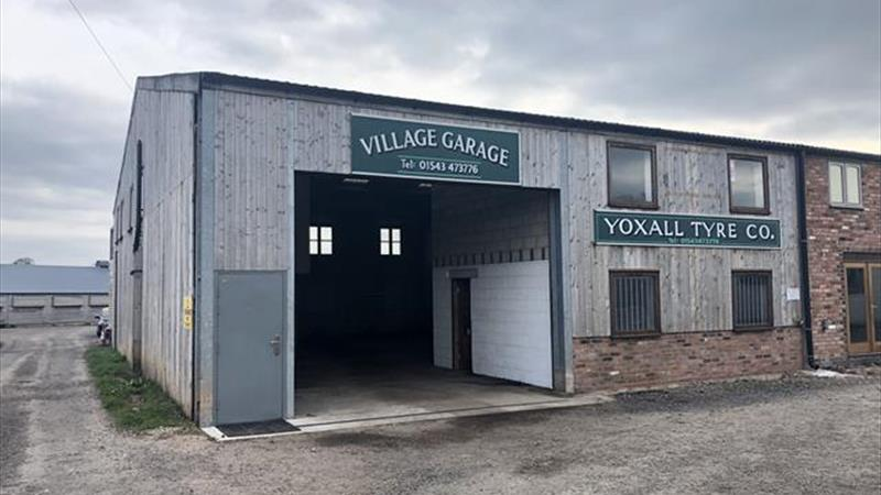 Rural Located Industrial Unit