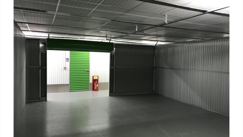 Commercial storage and office space