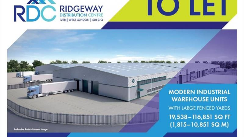Units 1B, 1C, 1D & 1G Ridgeway Distribution Centre