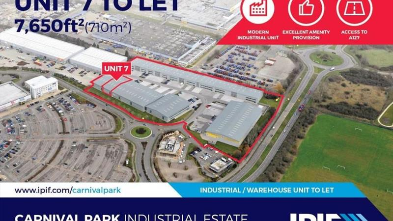 Unit 7 Carnival Park Industrial Estate