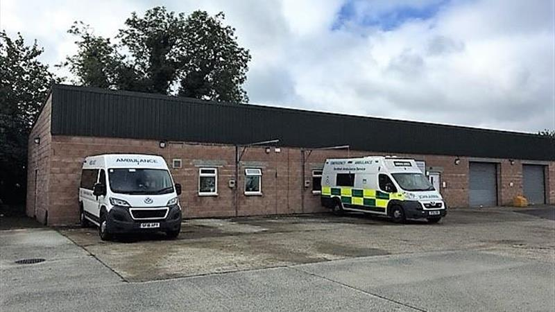 Scottish Ambulance Depot
