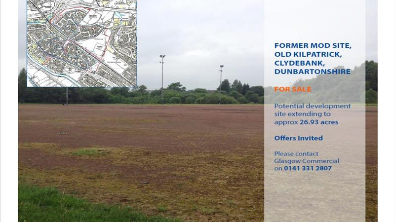 Land On Behalf of Scottish Enterprise For Sale
