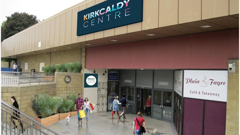 Kirkcaldy Centre  Hunter Street