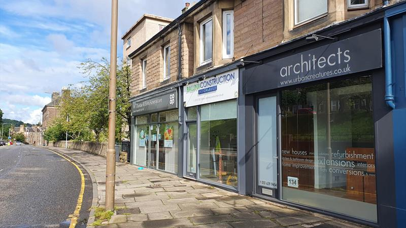 Shop With Office To Let