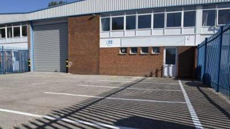 Light Industrial Unit With 1st Floor Office