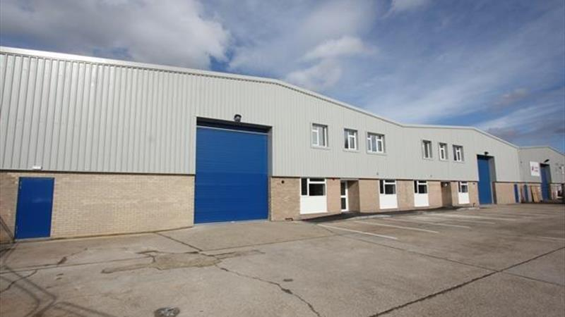 2 Adjoining Industrial / Warehouse Units